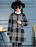 Girl's Casual/Daily Striped Suit & BlazerCotton Winter / Fall Red / White