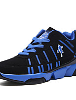 Men's Athletic Shoes Spring / Fall Mary Jane Cashmere Outdoor / Athletic Flat Heel Lace-up Blue / Black and Red / Black and WhiteRunning
