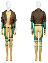 Cosplay Costumes / Party Costume Super Heroes / Hot Cakes Original  Rogue / Movie/TV Theme Costumes Movie Cosplay Yellow SolidCoat