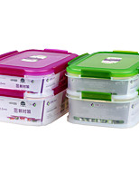 Multi-Layer Airtight Cookies Plastic Food Container with Lid
