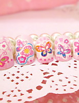 Nail Product Spot Cartoon Lovely Butterfly Fake Nails Patch Nail 24 Pieces With Glue