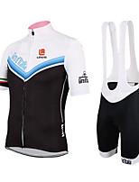 Sportif Femme Manches courtes VéloRespirable / Séchage rapide / Design Anatomique / Résistant aux ultraviolets / Vestimentaire / La peau