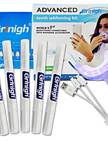 Grinigh Style de Blanchiment de Dents / Blanchiment des dents kits Non Testé sur des Animaux Adulte Blanc Plastic