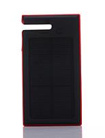 12000mAhmAhPower Bank Внешняя батарея Зарядка от солнца / Подсветка 12000mAh 1000mA Зарядка от солнца / Подсветка
