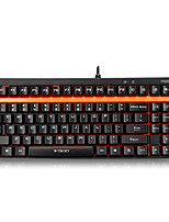 Rapoo Gaming Keyboard Mechanical keyboard  V500 Black Shaft Full Keys Programmable PRO With 1.5mm Trigger Stroke