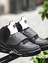 Femme-Sport-Noir / Vert / Blanc-Talon Plat-Confort-Chaussures d'Athlétisme-Microfibre