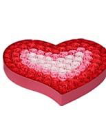 Note rouge taille de gradient 39 * jour les dons de 39 * 5cm créatif valentine rose coffret cadeau fleur de savon