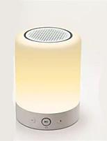 intelligente atmosphère conduit bluetooth audio de voiture haut-parleur haut-parleur avec la fonction radio FM
