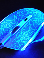 Rapoo v20s игровой мыши оптический программируемый профессиональный настроить дыхание света 3000dpi 7 независимо программируемых клавиш