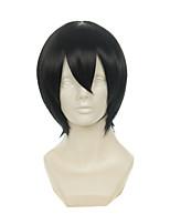 Durarara Orihara Izaya Touken Ranbu Online Horikawa Kunihiro Black Short Halloween Wigs Synthetic Wigs Costume Wigs