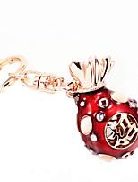 розовое золото повезло сумки кольцо для ключей автомобиля