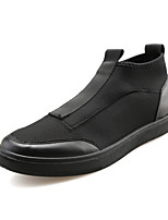 Men's Sneakers Spring / Summer / Fall / Winter Comfort Fabric Athletic / Casual Flat Heel Slip-on Black / Red / White Walking