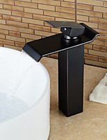 Personalized Bathroom Sink Faucet Oil-rubbed Bronze Finish Single Handle