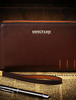Men Cowhide Office & Career Clutch