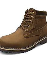 Men's Boots Fall Winter Others Cowhide Casual Lace-up Black Brown Others