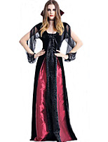 Halloween Costume Vampire Witch Zombies Serve Queen's Dress