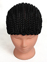 3pcs Wig Caps For Making Wigs Hair Net Wig Accessories Comfortable High-grade Black Wig Cap Cornrows Wig Cap For Making Wigs Easier Adjustable Wig Cap