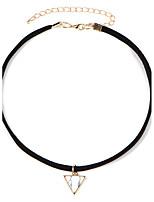 Ожерелье Без камня Ожерелья-бархатки Татуировка Choker Бижутерия Свадьба Для вечеринок Повседневные Тату-дизайн Мода Сплав Резина 1шт