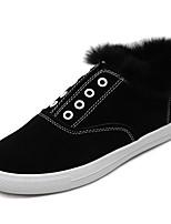 Women's Sneakers Fall / Winter Comfort  Casual Flat Heel Others Black / Brown / Gray Walking