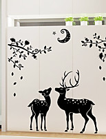 Animals / Still Life / Holiday Wall Stickers Plane Wall Stickers /  Decorative Wall Stickerspvc Material Removable
