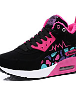 Women's Athletic Shoes Winter Comfort PU Outdoor / Athletic / Casual Flat Heel Lace-up Pink / Purple / Orange Walking