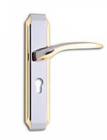 Wooden Handle Bearing Steel Room Door Lock