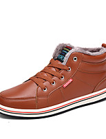 Men's Boots Fall / Winter Comfort Synthetic Outdoor / Office & Career / Casual Flat Heel Lace-up  Sneaker