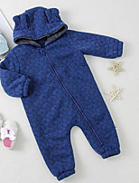 Baby Casual/Daily Galaxy One-Pieces,Cotton Fall Long Sleeve