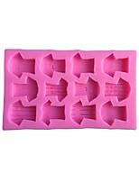 1 Pečení Nepřilnavý / Šetrný k životnímu prostředí / DIY / pečení nástroje / 3D / Vysoká kvalitaSušenky / Cupcake / Koláč / Pizza /
