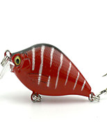 1 pcs Vibration/VIB Vibration/VIB Green / White / Yellow / Purple / Red 8.4 g Ounce mm inch,Hard Plastic Bait Casting