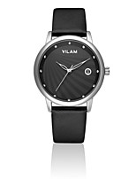 VILAM Women Leather Clock Waterproof Female women dresses Quartz WristWatch watches wedding student girl