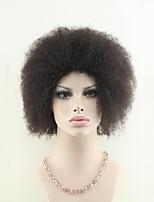 brasileiro virgem cabelo curto encaracolado afro-máquina em perucas para mulheres negras