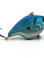 1 pcs Jig Head Verde / Prateado / Azul / Traseira Preta Dourada 0.01 g Onça mm polegada,Metal Pesca de Mar