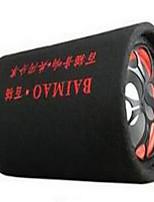 Bluetooth intégré un chat de 6 pouces de long haut-parleurs de moto subwoofer audio circulaires