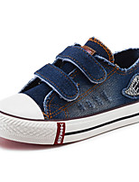 Boy's Sneakers Spring / Fall Comfort Canvas / Cotton Outdoor / Casual Flat Heel Hook & Loop Blue Walking / Sneaker