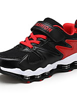 Boy's Athletic Shoes Fall Comfort PU Outdoor Flat Heel Others / Hook & Loop Blue / Black and Red / Royal Blue Walking