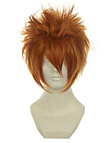 Vampire Knight Kain Akatsuki Orange Versatile Towering Short Cosplay Wig