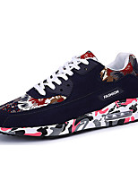 Unisex Sneakers Spring / Fall Comfort Fabric Casual Flat Heel  Black / Blue / Red Sneaker
