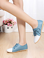 Women's Flats Spring / Summer Mary Jane Leather Outdoor Flat Heel Others Sneaker