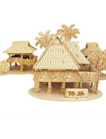 Jigsaw Puzzles Wooden Puzzles Building Blocks DIY Toys Bamboo Building  1 Wood Ivory Puzzle Toy