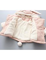 Completo e giacca Girl Casual Tinta unita Cotone Inverno Rosa