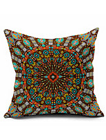 1 pcs Kilim Tribal Throw Case Cotton Linen Decorative 2 Sides Printing Modern Contemporary Pillow Cover