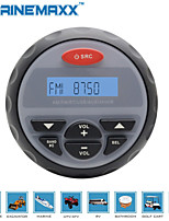 4 inch Waterproof Marine Gauge Radio FM AM Audio Bluetooth Stereo for Boat ATV RZR