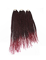Senegal Twist  1b/118 Synthetic Hair Braids 18inch 20inch 22inch Kanekalon 81 Strands 200g  Multipal Pack for Full Heads