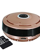 960P Cylindric Network HD Built in 32GB SD Card 360 Degree Fisheye P2P Wifi IP Camera with Home Security