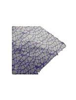 (Note de couleur fleur pourpre cellophane réseau) réseau d'impression cellophane