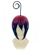 Blue Exorcist Mephisto Pheles Gradient Pink Purple and Blue Halloween Wigs Synthetic Wigs Costume Wigs