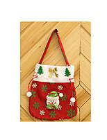 deux conditionnés pour la vente de fournitures de Noël créatives de sac à main rouge