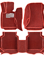 Surrounded By All Surrounded By A Large Car Floor Mat Leather Pads