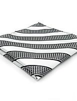Для мужчин Винтаж / Очаровательный / Для вечеринки / Для офиса / На каждый день Платок / аскотский галстук,Искусственный шёлк Полоски,
